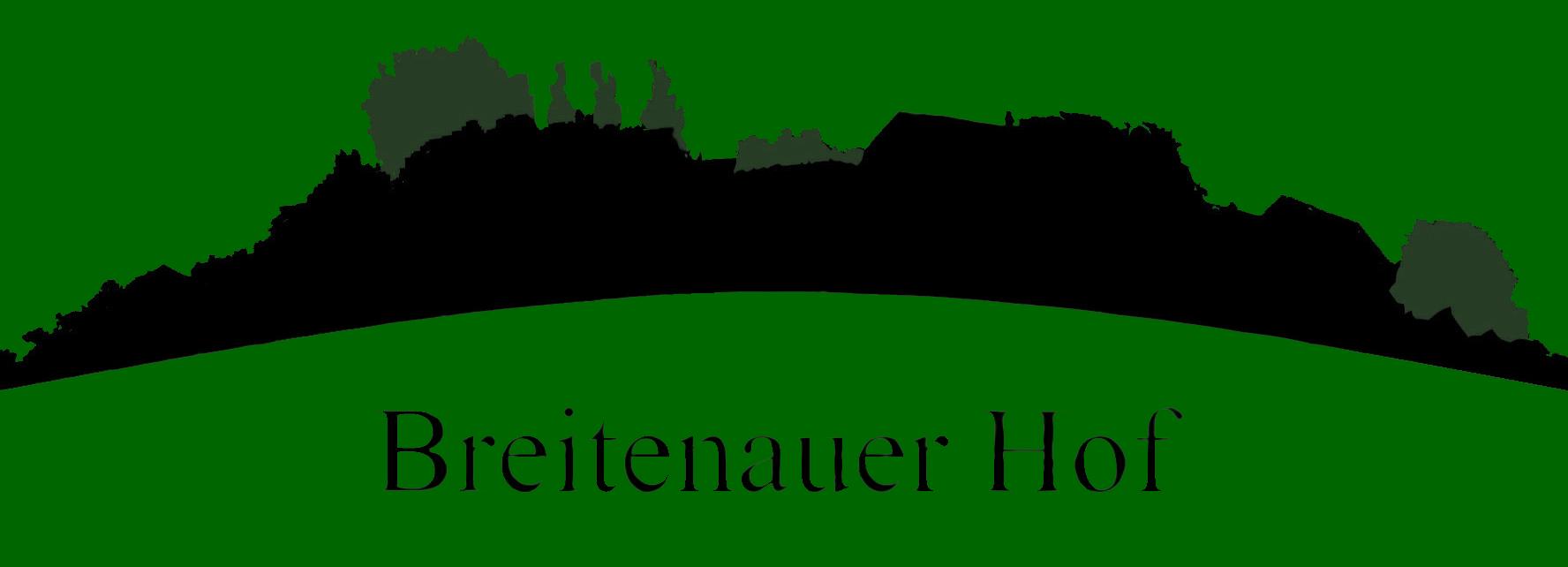 Logo Schrift unterhalb Transparent grün